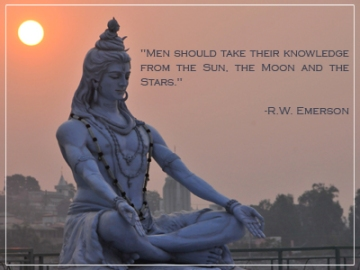 Shiva - Inspirational quote for vedic astrology from Northern Lights Vedic