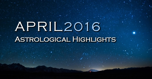 April 2016 Vedic Astrology
