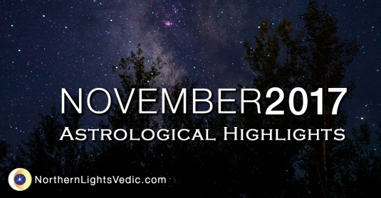 Vedic Astrology Forecast November 2017