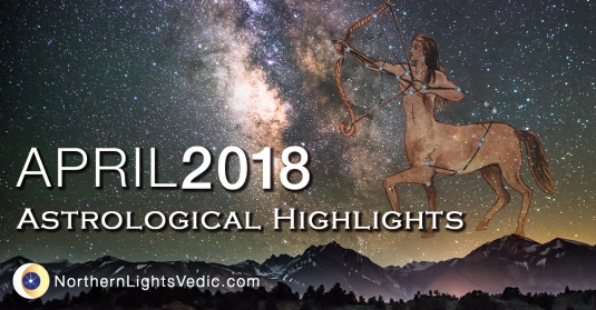Vedic Astrology forecast for April 2018 | Lina Preston at Northern Lights Vedic